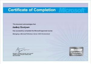 MS Server 2003